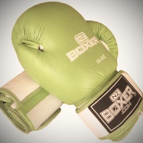 NZ Boxer: Leather Gloves 14oz