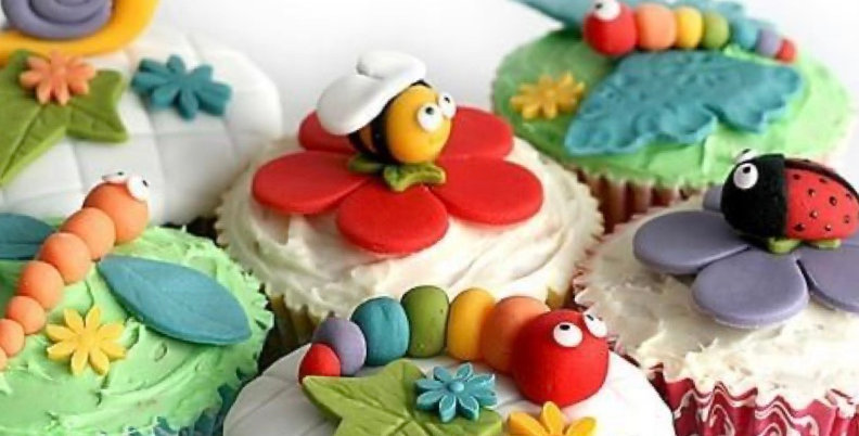 Spring Bugs Cupcake Decorating Kit