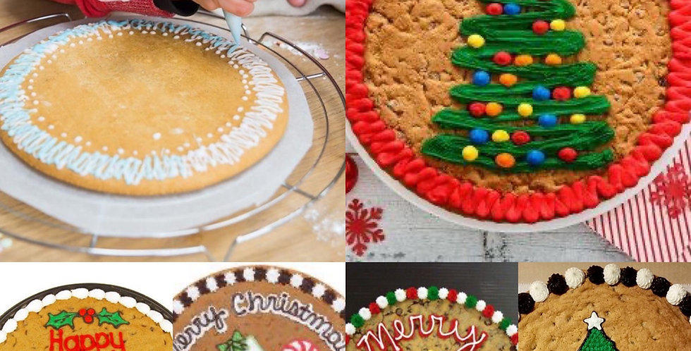 Decorate your own giant cookie SOLD OUT for Xmas