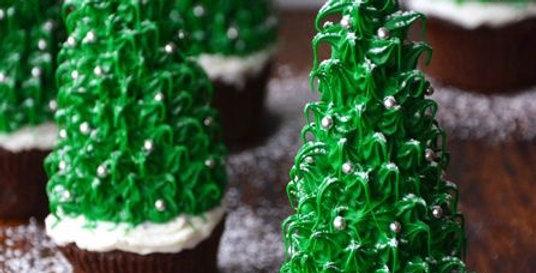 Christmas Tree Cupcake Kit