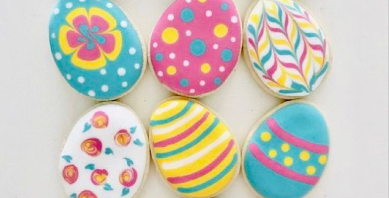 Decorate your own Easter Egg Biscuits