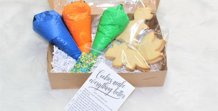 Dinosaur Biscuit Decorating Kit