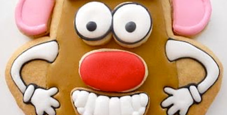 Mr Potato Head Biscuit Kit