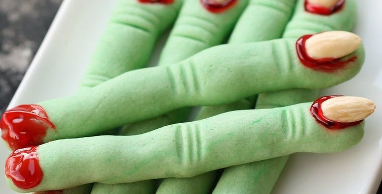 Witches fingers biscuit kit