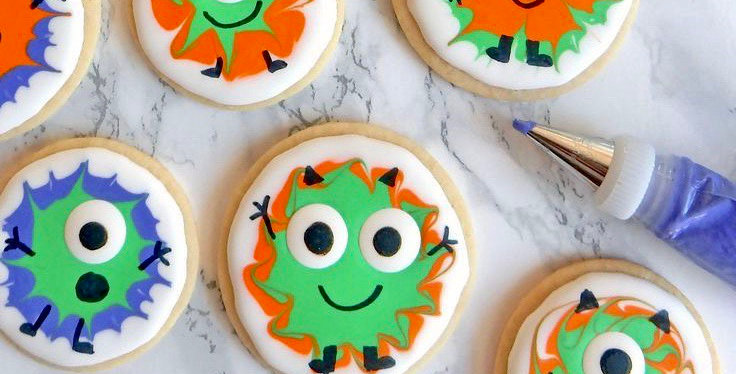 Monster Cookie  Decorating Kit