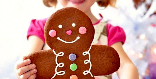Giant Gingerbread Man SOLD OUT for Xmas