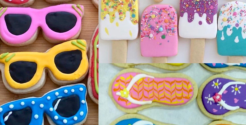 Summer Time Biscuit Decorating Kit