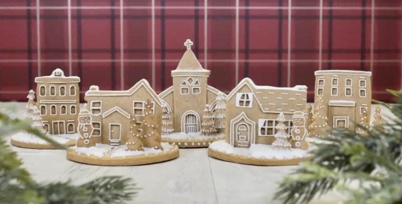 3D Village Scene Cookie Kit