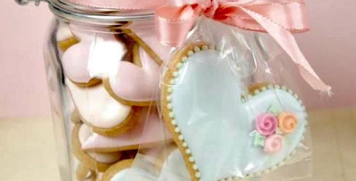 Flavoured mini biscuit jar