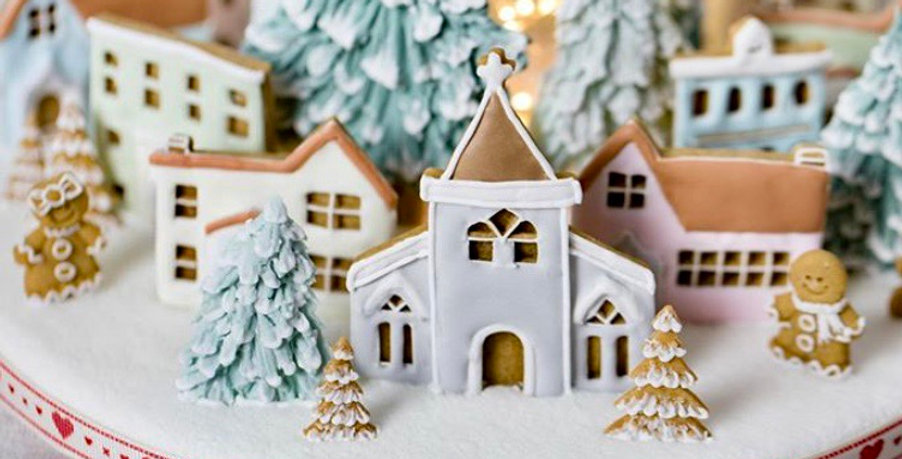 Village Cookie Decorating Kit SOLD OUT for Xmas