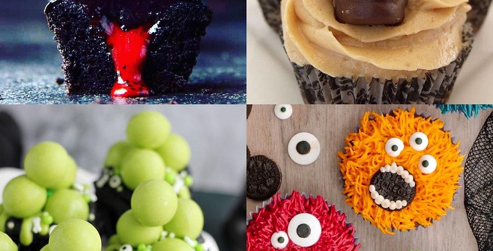 Halloween Mixed Cupcake Box