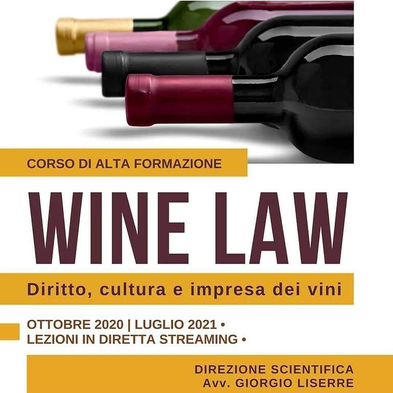 WINE LAW | Corso in diritto, cultura e impresa dei vini