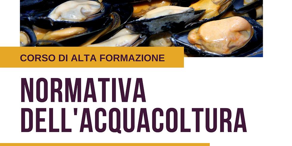 NORMATIVA DELL'ACQUACOLTURA | DIRITTO, PRASSI, NUOVE OPPORTUNITÀ