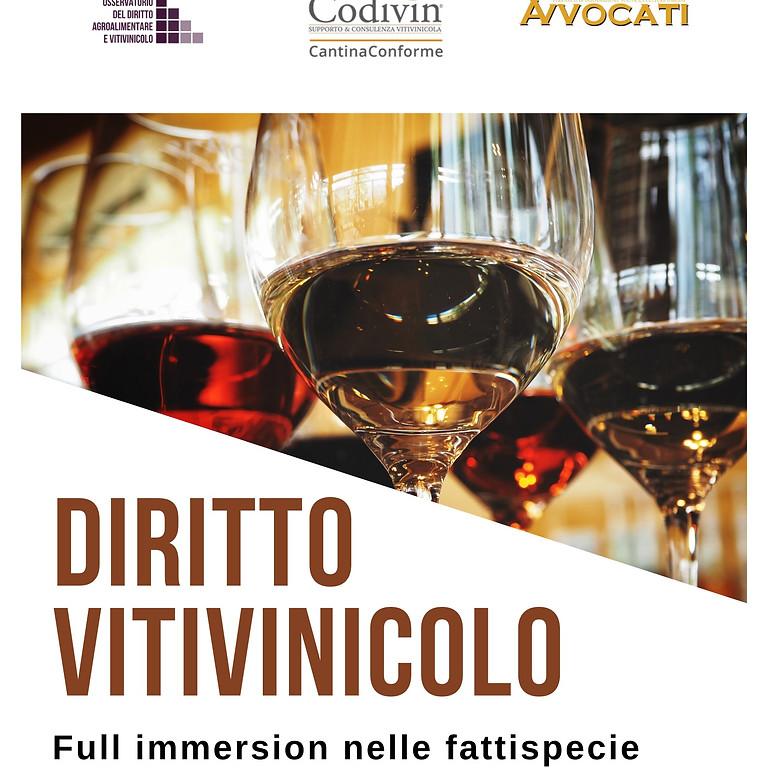 31 luglio 2020 | Full immersion online di Diritto vitivinicolo – Le fattispecie penali più ricorrenti