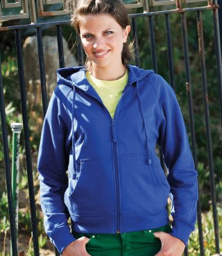 Ladies Skinnifit Zipped Jacket (SK50)