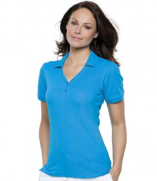 V Neck Polo Shirt (K732)