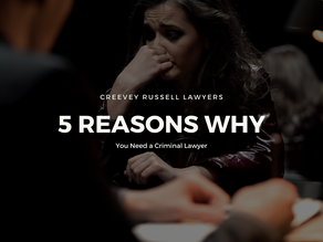 5 REASONS WHY YOU NEED TO HIRE A CRIMINAL LAWYER