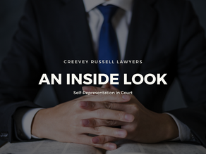 AN INSIDE LOOK: SELF-REPRESENTATION IN COURT