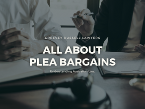 ALL ABOUT PLEA BARGAINS (CHARGE BARGAINING): UNDERSTANDING AUSTRALIAN LAW