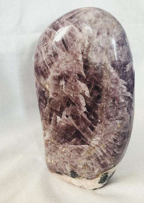 Purple Anhydrite Boulder