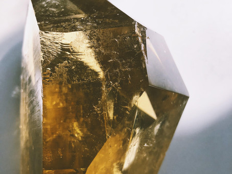 Citrine: Higher consciousness and strong personality