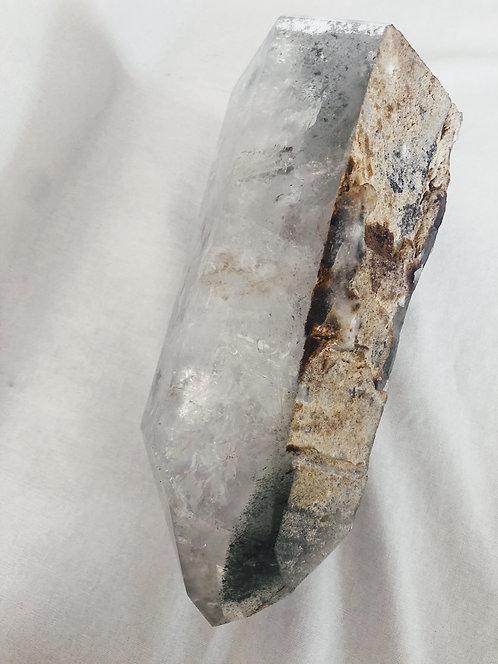 Chlorite Phantom Quartz Point