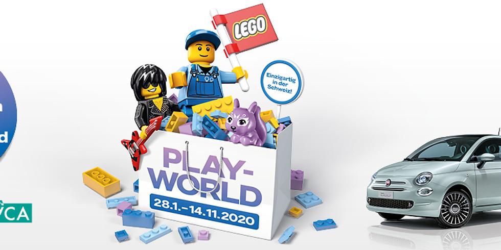 "TIMO MICHELS eröffnet die ""LEGO® Playworld"""