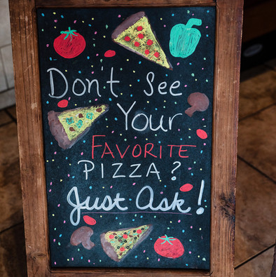 Make requests for your favorite pizza!