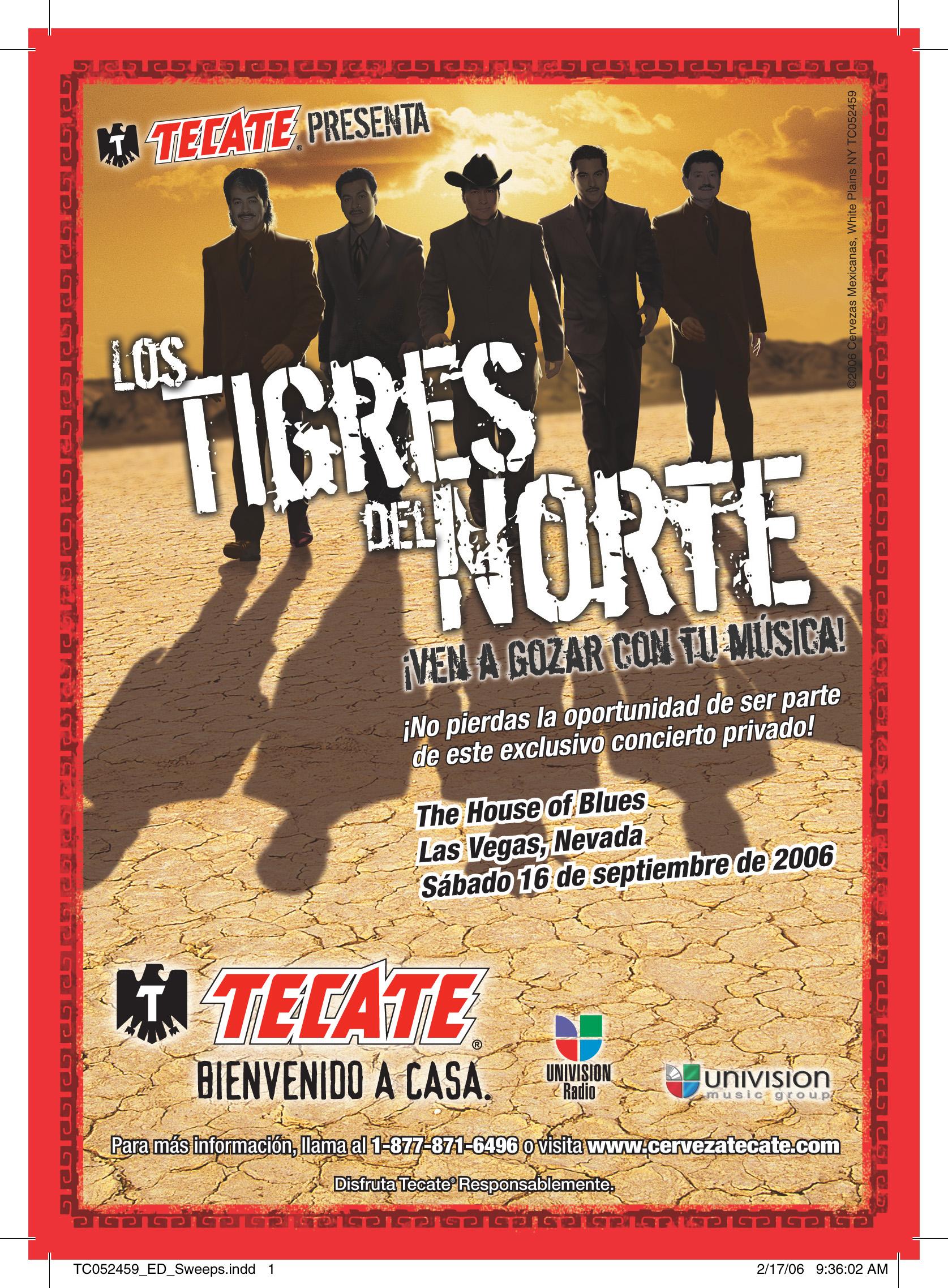 Promoción Tigres del Norte