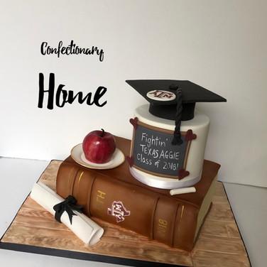Texas ATM Graduation Cake