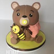 Teddy Bear Shower Cake