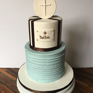 Boy's 1st Communion Cake
