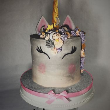 Retirement Unicorn Cake