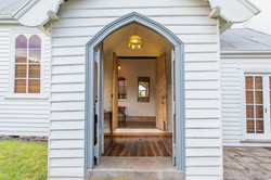 A Welcoming Guest Entrance