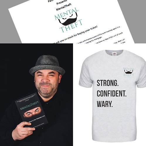 Magic Show 27/12/2020 Book and Men's Tshirt