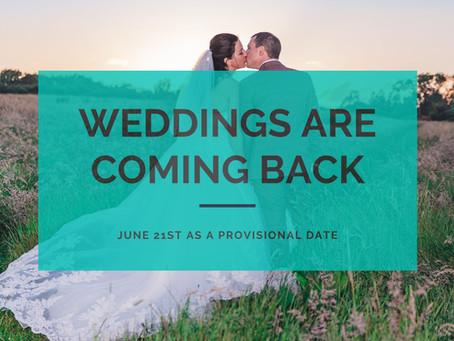 Back to Weddings in June