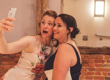 Smartphones at weddings