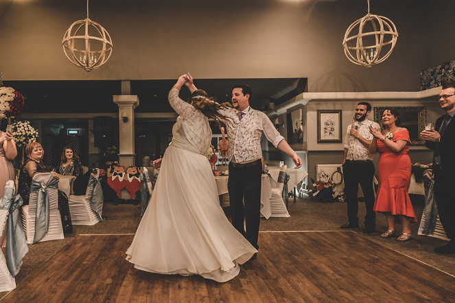 First Dance at the Potters Heron