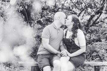 Kat and Luke's engagement photo shoot