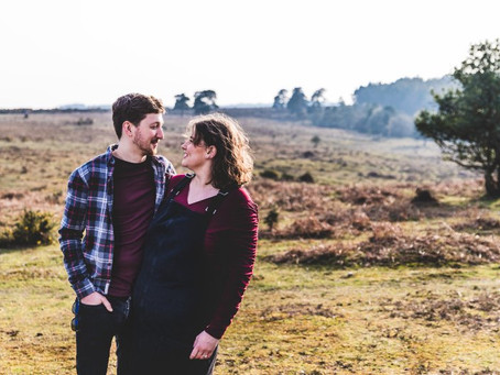Katrina and Liam's Engagement Shoot