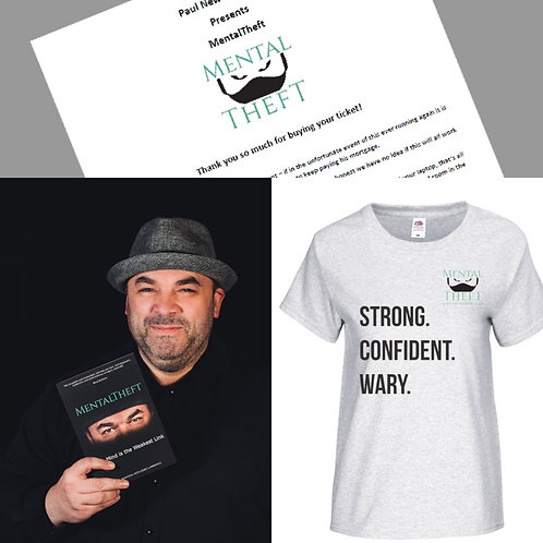 Magic Show 27/12/2020 Book and Women's Tshirt