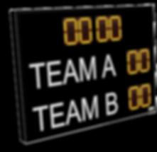 LED football scoreboard
