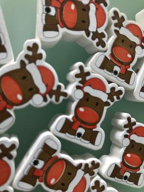 Elch aus Winter-/Weihnachtskollektion