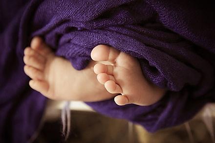Nuggikette, Babyfüsschen, Newborn, Baby, Schnullerkette, Nuggichetteli