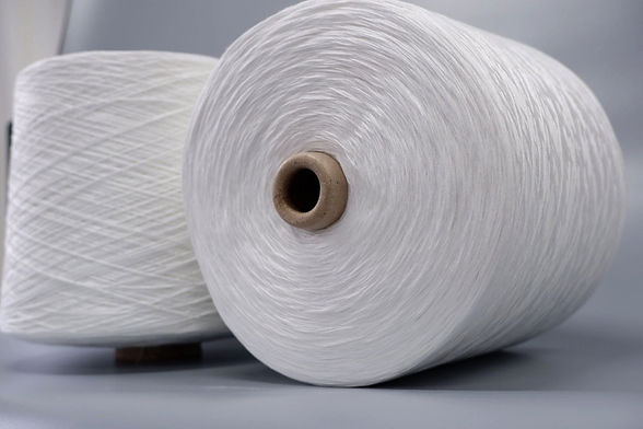 spun polyester yarn for sewing thread .j