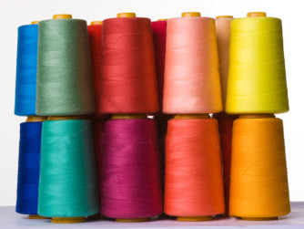 The Lubrication for bag sewing thread