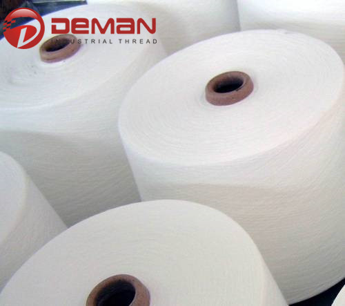polyester yarn for sewing thread