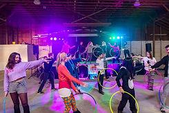 Throw down hula hoop battle spinsanity 2