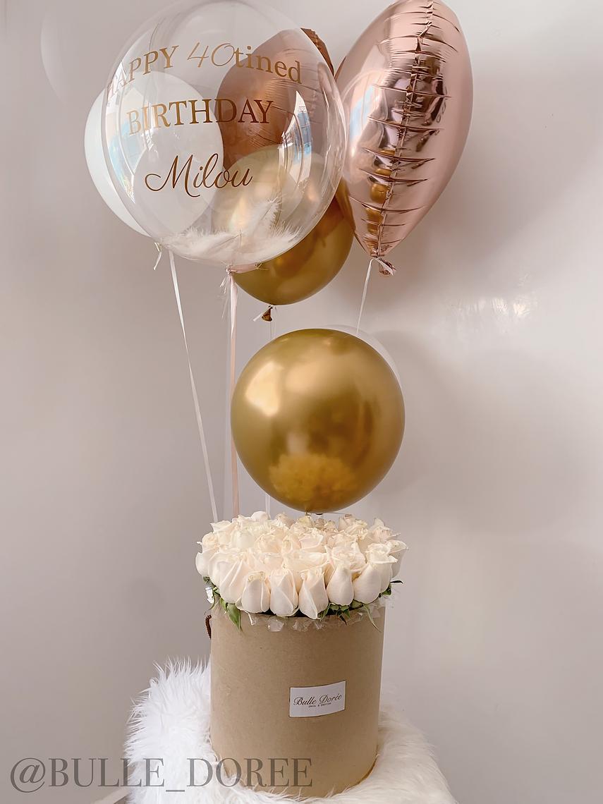 Ballon personnalisé anniversaire