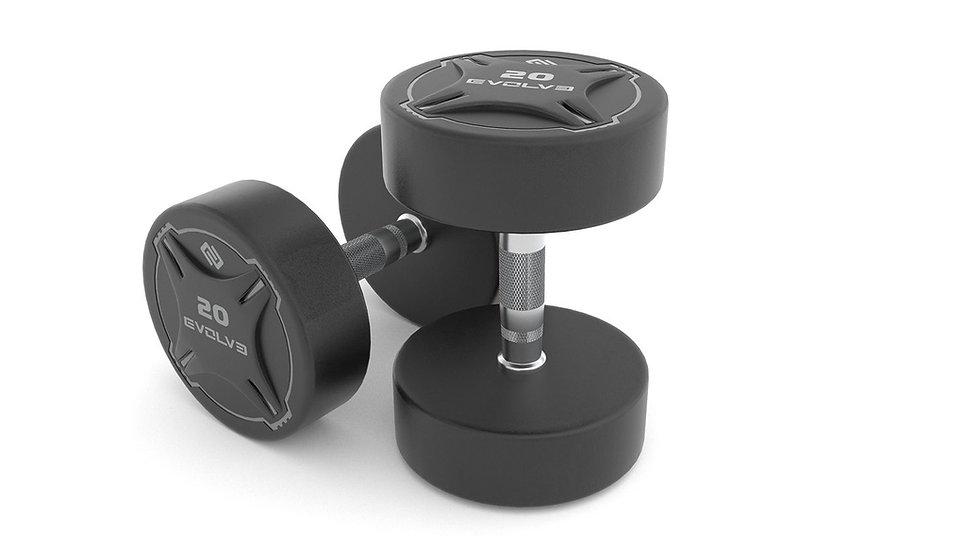 Evolve Fitness Urethane Dumbbells